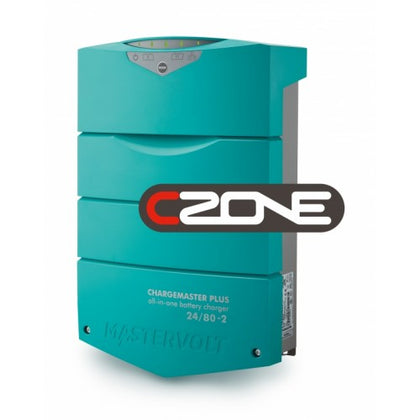 Chargemaster Plus 24/80-2 CZONE - 24V, 80 AMP, 2 Battery Outlets