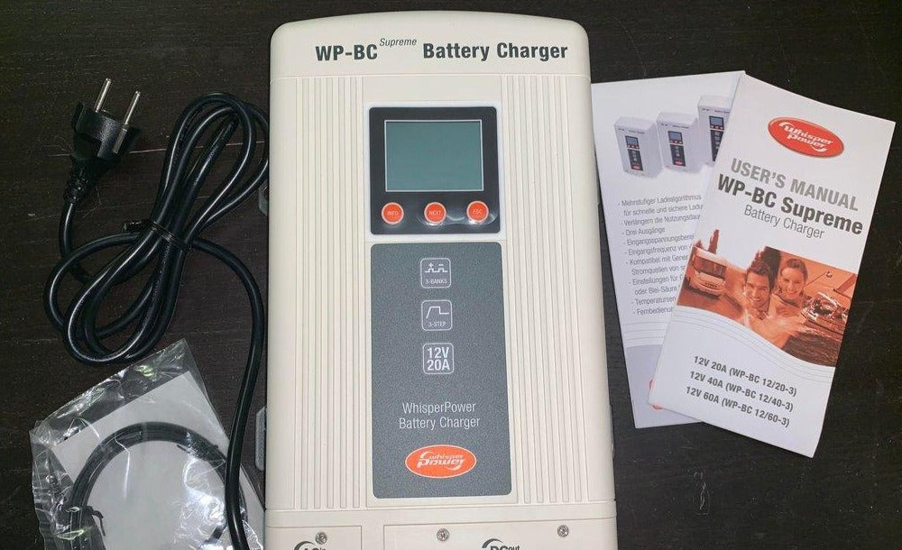 WP-BC Whisper Power Battery Charger