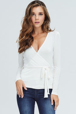 Wrap Me Up Top - 2 Colors