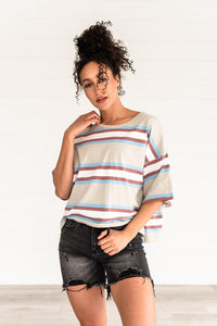 Casual Feeling Oversized Tee