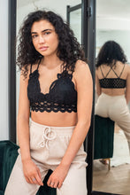 Match Made In Heaven Lace Crocheted Bralette