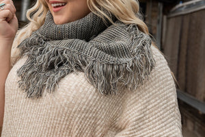 Warm and Cozy Infinity Scarf