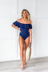 Beach Bungalow Ruffle Swimsuit