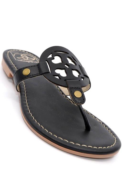 A Day In The Sun Sandals - Black