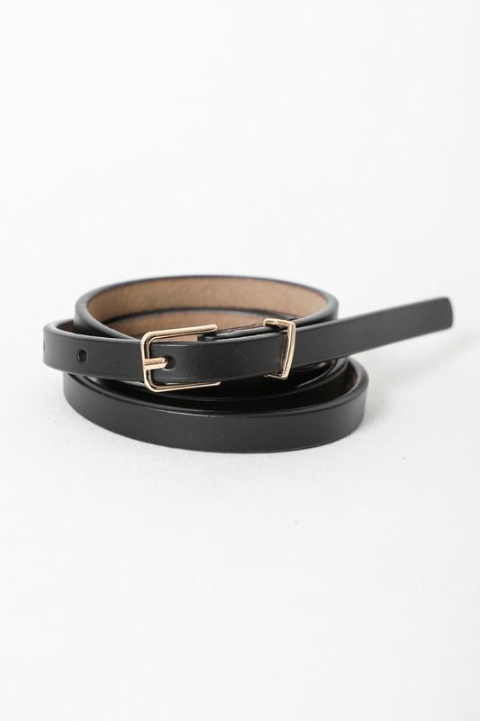 Chic In The City Skinny Belt