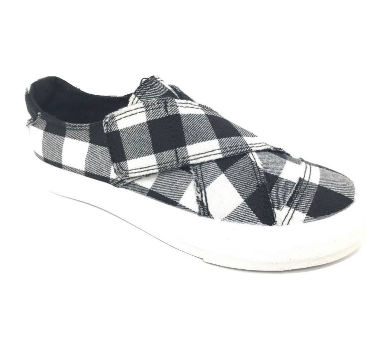 Play Buffalo Plaid Sneakers