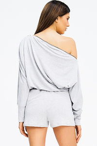 Off The Shoulder Jumpsuit - SkyDenae Boutique