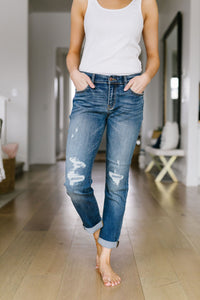 Ex Boyfriend Distressed Jeans