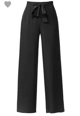 Black PaperBag Dress Pants
