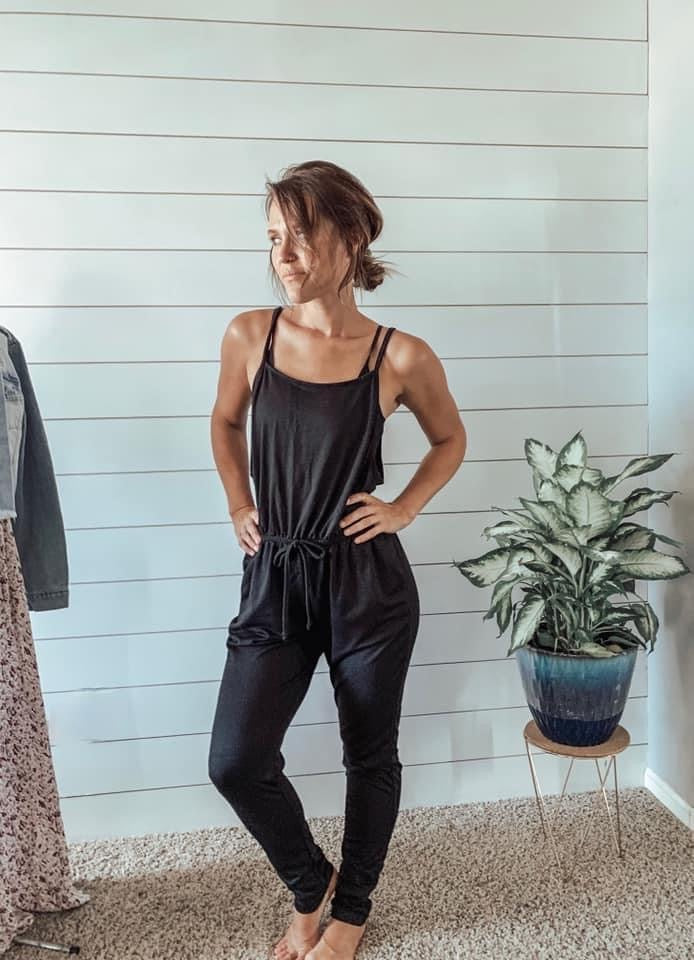 Every Day Jumpsuit - Blacl