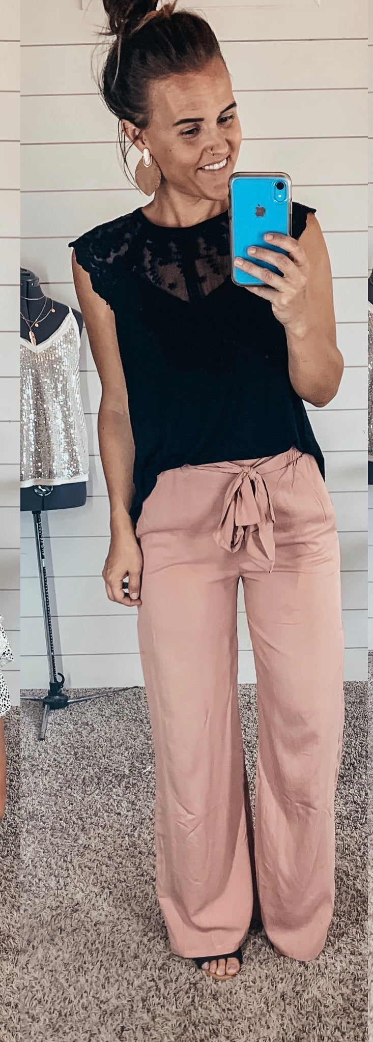 Mauve Dress Pants
