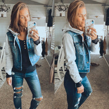 Denim Jacket w/ Hood