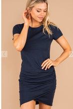 Ruched T-shirt Dress SMALL