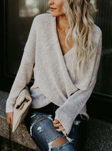 Katy Wrap Sweater - 2 Colors - SkyDenae Boutique
