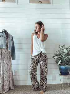 Untamed Leopard Love Pants - SkyDenae Boutique