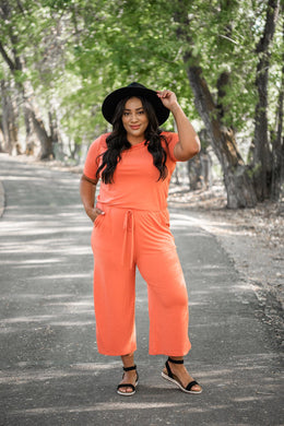 Try Something New Capri Jumpsuit