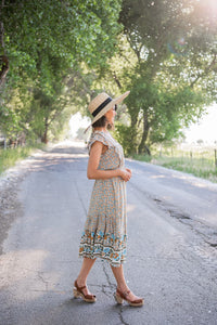 Born To Be Free Midi Dress