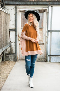 Keep It Simple Cape Sweater