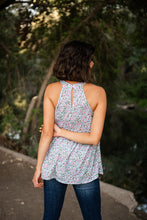 Gracefully Growing Floral Tank