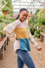 Can't Stop Loving You Color Block Sweater