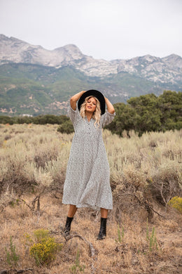Feeling Like A Dream Henley Dress
