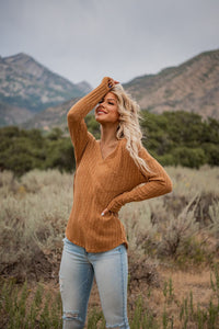 Live In the Moment Ribbed Top
