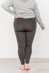 Winter Wonderland Fleece Leggings