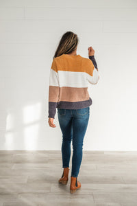 Easy To Love Color Block Sweater