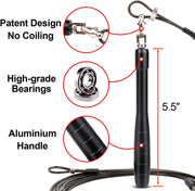 Speed Jump Rope Updated Version -2 Adjustable Cable Rope