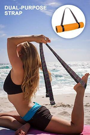 "Yoga Mat Pilates Floor Exercises 72""X 24"" X1/4"""