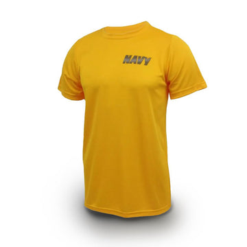 NAVY PT Yellow Short Sleeve T-Shirt