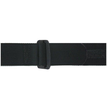 NAVY Black Rigger Belt with Black D-Ring Buckle