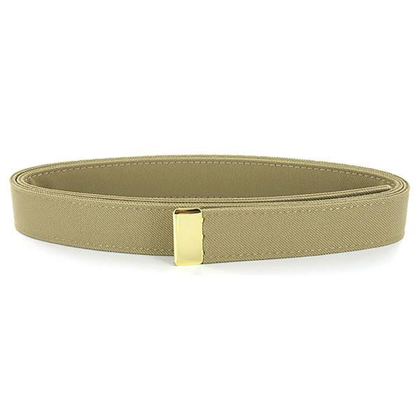 NAVY Women's Belt Khaki CNT - Gold Tip