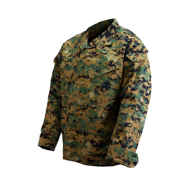 AS-IS USMC MARPAT Woodland Blouse - No Insect Guard