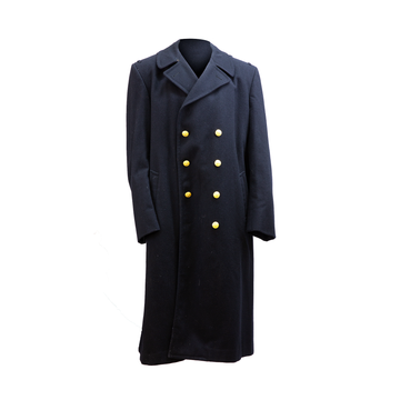 AS-IS NAVY Men's Bridgecoat