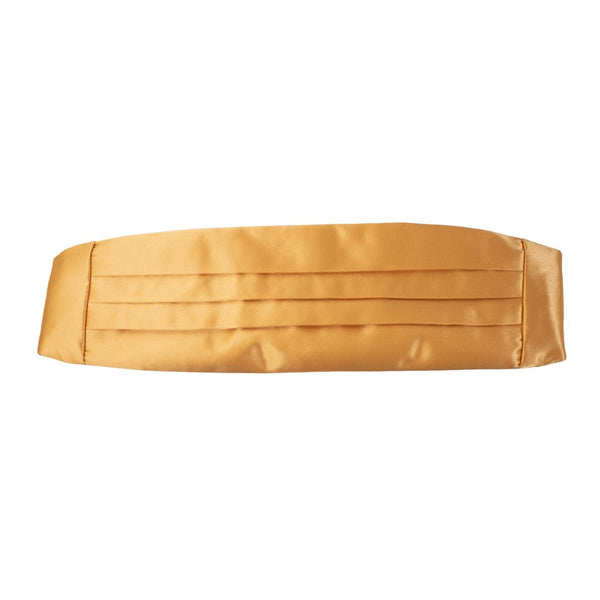 NAVY Women's Gold Adjustable Cummerbund
