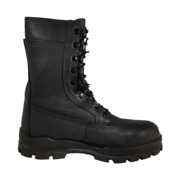 "NAVY Men's 9"" Black Dungarees Steel-Toe Boots (Bates E01621A)"