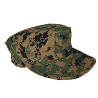 USMC MARPAT Woodland 8-Point Hat, No Insignia