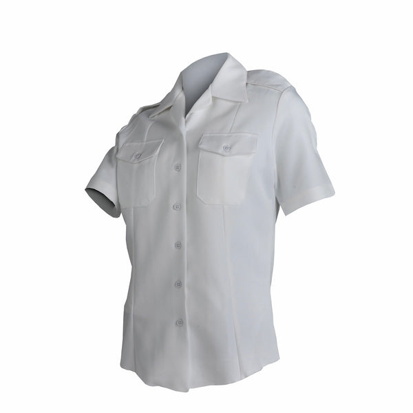 AS-IS NAVY Women's Officer/CPO Summer White Shirt