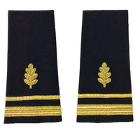 NAVY O1-O6 Soft Shoulder Board: Nurse Corps