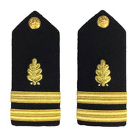 NAVY Men's O1-O6 Hard Shoulder Board: Dental Corp
