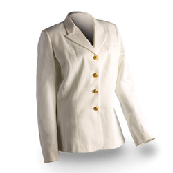 NAVY Women's Service Dress White Jacket w/Gold Buttons
