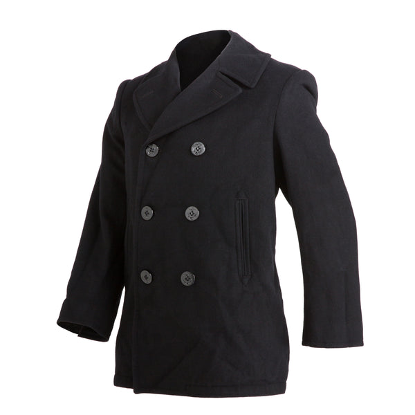 AS-IS NAVY Men's Enlisted Peacoat