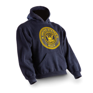 US Navy Sweat Shirt - Hooded