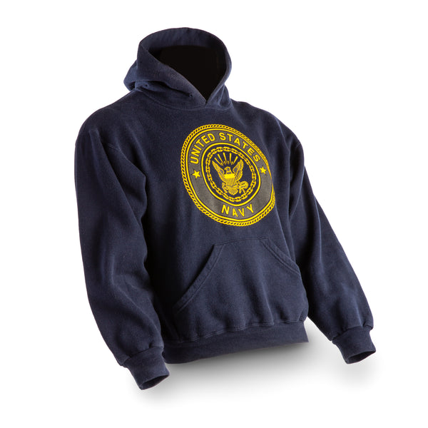 NAVY Sweat Shirt - Hooded