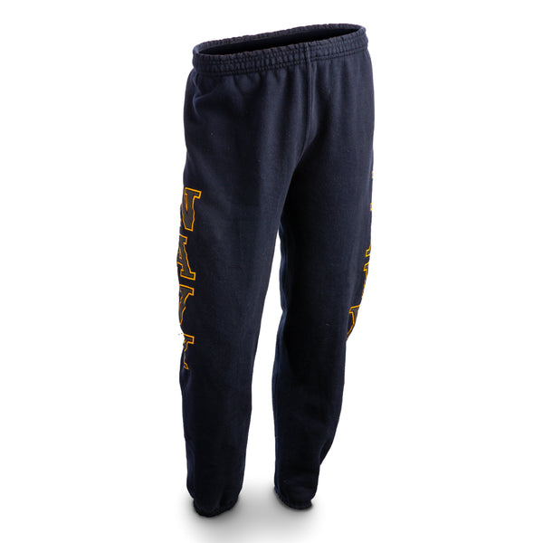 AS-IS NAVY PT Sweat Pants - Blue/Yellow