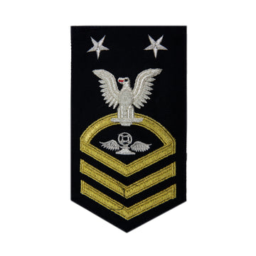 NAVY Men's (E9) Master Chief Petty Officer Rating Badge -Aviation Traffic Controller