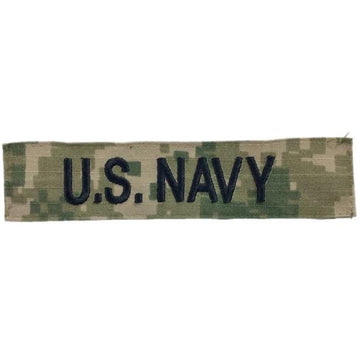 "NAVY NWU Type III ""U.S. NAVY"" Tape"