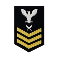 NAVY Men's (E6) Rating Badge for Yeoman