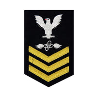 NAVY Men's (E6) Rating Badge- Aviation Electronics Technician